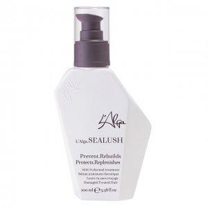 Термозащитная восстанавливающая сыворотка для волос Sealush L'Alga. Цвет: бесцветный