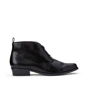 Ботинки-оксфорды LaRedoute. Цвет: черный