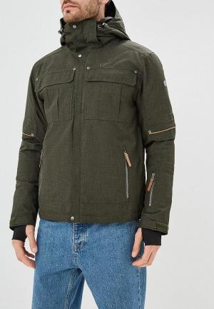 Куртка утепленная Five Seasons FI615EMDDNU0. Цвет: хаки