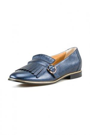 Туфли закрытые Giotto. Цвет: синий