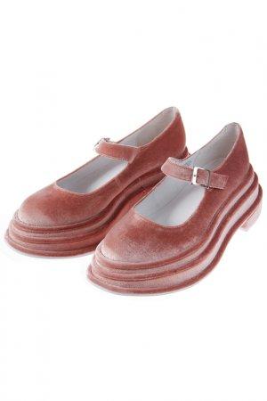Туфли JEFFREY CAMPBELL. Цвет: карамельный, розовый