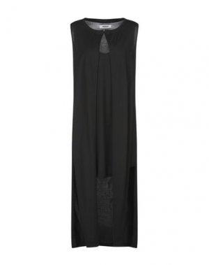 Короткое платье MARIOS. Цвет: черный