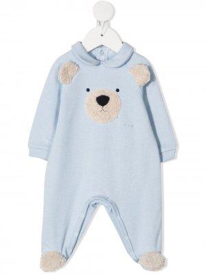 Пижама Teddy Il Gufo. Цвет: синий