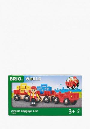 Конструктор Brio Автокар с вагонами. Цвет: разноцветный