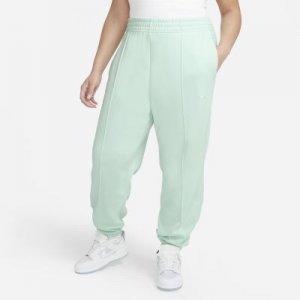 Женские флисовые брюки Sportswear Trend (большие размеры) - Зеленый Nike