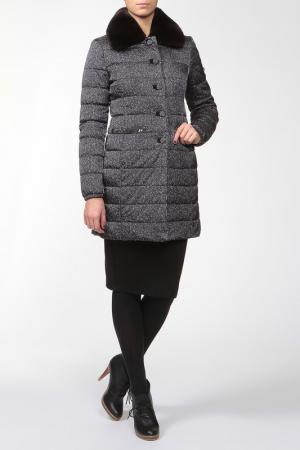 Пальто двухстороннее VDP. Цвет: мультицвет