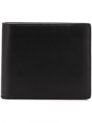 Классический бумажник Maison Margiela. Цвет: черный