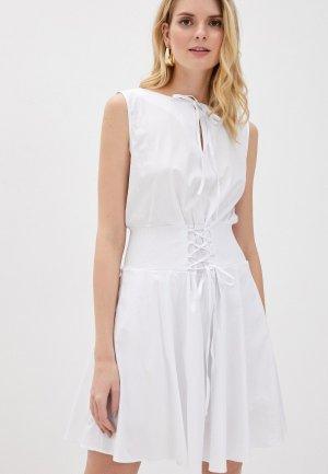 Платье Giorgio Di Mare. Цвет: белый