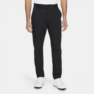 Мужские брюки чинос с плотной посадкой для гольфа Dri-FIT UV - Черный Nike