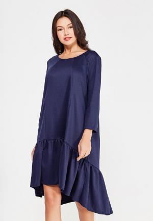 Платье Dlys D'lys. Цвет: синий