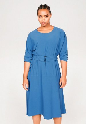 Платье Violeta by Mango - CREPI. Цвет: синий