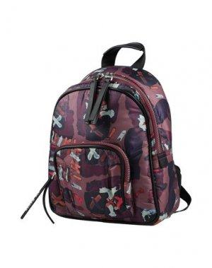 Рюкзаки и сумки на пояс CAFèNOIR. Цвет: красно-коричневый