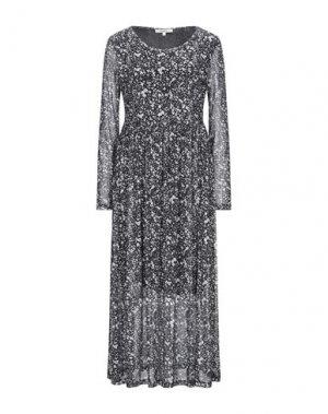 Платье длиной 3/4 GARCIA. Цвет: черный