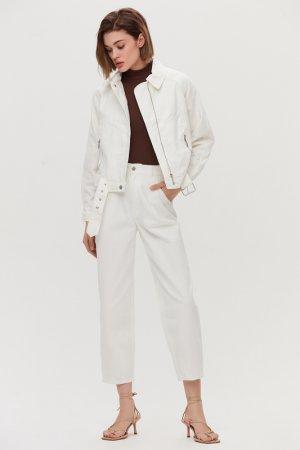 Куртка джинсовая Love Republic. Цвет: 60, молочный