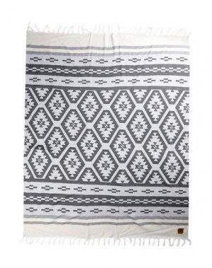 Пляжное полотенце SLOWTIDE. Цвет: стальной серый