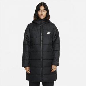 Женская парка с капюшоном Sportswear rma-FIT Repel - Черный Nike