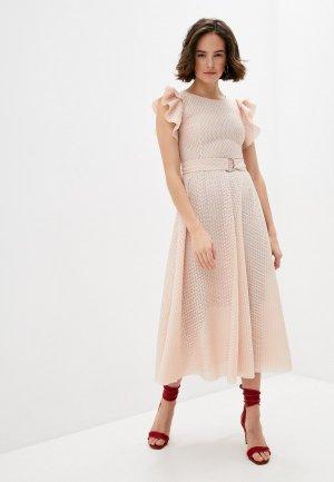 Платье Akris Punto. Цвет: коралловый