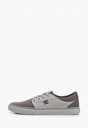 Кеды DC Shoes TRASE TX. Цвет: серый