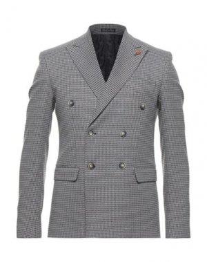 Пиджак EREDI DEL DUCA. Цвет: пастельно-синий