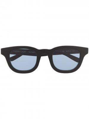 Солнцезащитные очки Monopoly 101 в квадратной оправе Thierry Lasry. Цвет: черный