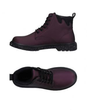 Высокие кеды и кроссовки CAFèNOIR. Цвет: фиолетовый