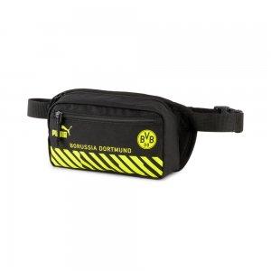 Сумка на пояс BVB ftblCULTURE Football Waist Bag PUMA. Цвет: черный