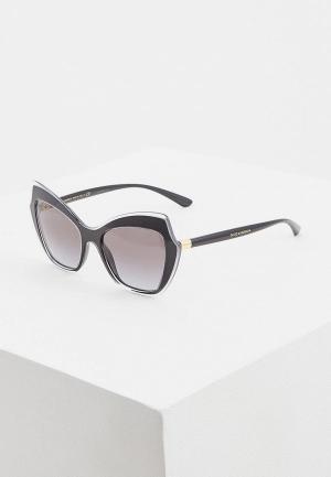 Очки солнцезащитные Dolce&Gabbana DG4361 53838G. Цвет: черный