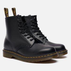Ботинки 1460 Smooth Leather Dr. Martens. Цвет: чёрный