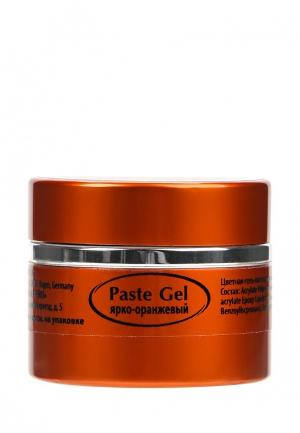 Гель-лак для ногтей Planet Nails Гель-паста ярко-оранжевая 5 г. Цвет: оранжевый