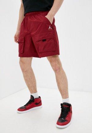 Шорты спортивные Jordan M J JMPMN WVN SHORT. Цвет: бордовый