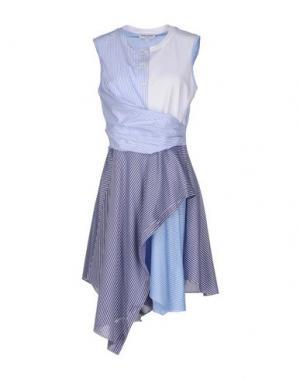 Короткое платье OPENING CEREMONY. Цвет: синий