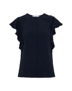 Блузка DEREK LAM 10 CROSBY. Цвет: темно-синий