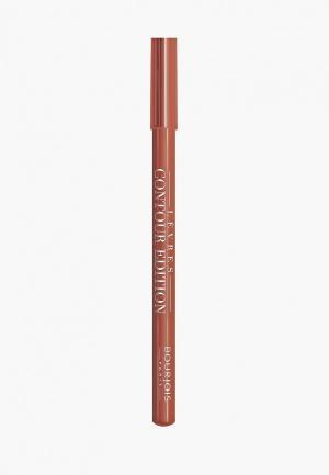 Карандаш для губ Bourjois Levres Contour Edition, 13 Caramel, 1 гр. Цвет: прозрачный