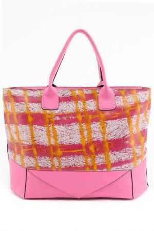 Сумка Arcadia. Цвет: розовый, бежевый, фуксия, желт