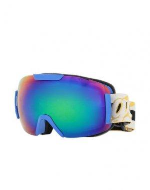 Солнечные очки GCDS. Цвет: синий
