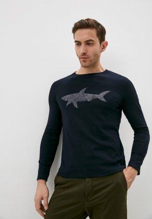 Лонгслив Paul & Shark. Цвет: синий