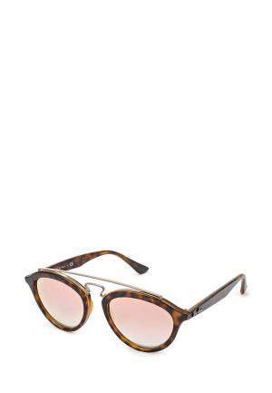 Очки солнцезащитные Ray-Ban® RB4257 6267B9. Цвет: коричневый