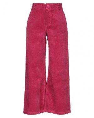 Повседневные брюки LAZY OAF. Цвет: фуксия