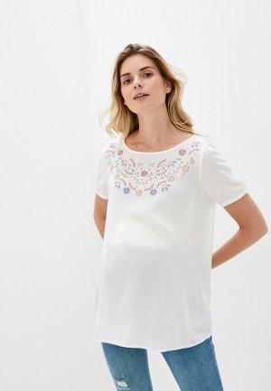 Блуза LC Waikiki. Цвет: белый