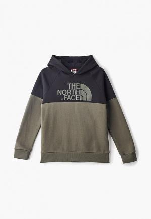 Худи The North Face. Цвет: хаки