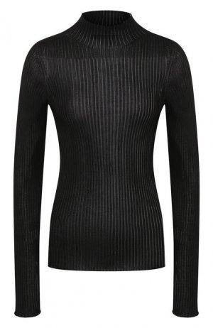 Пуловер из вискозы Versace. Цвет: черный
