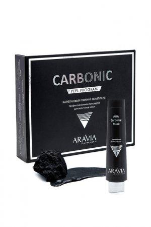 Карбоновая пилинг-маска, 100мл ARAVIA Professional. Цвет: темно-серый