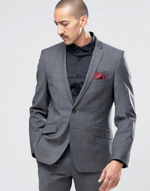 Пиджак суперзауженного кроя Camden Seattle Prestige Ben Sherman. Цвет: черный