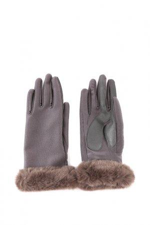 Перчатки Isotoner. Цвет: серый