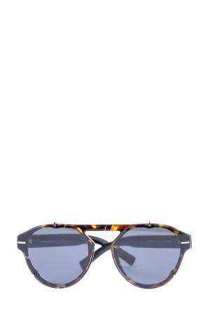 Очки BlackTie254S в круглой оправе pantos с металлическими скобками DIOR (sunglasses) men