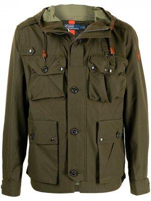 Куртка Ellsworth из смесового хлопка Polo Ralph Lauren. Цвет: зеленый