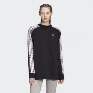 Свитшот Allover Print Originals adidas. Цвет: черный