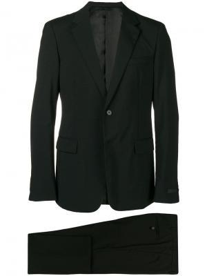 Деловой костюм-двойка Prada. Цвет: черный