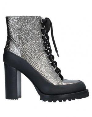 Полусапоги и высокие ботинки PREMIATA. Цвет: свинцово-серый