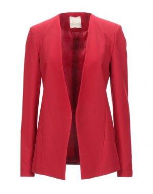 Пиджак H2O ITALIA. Цвет: красный